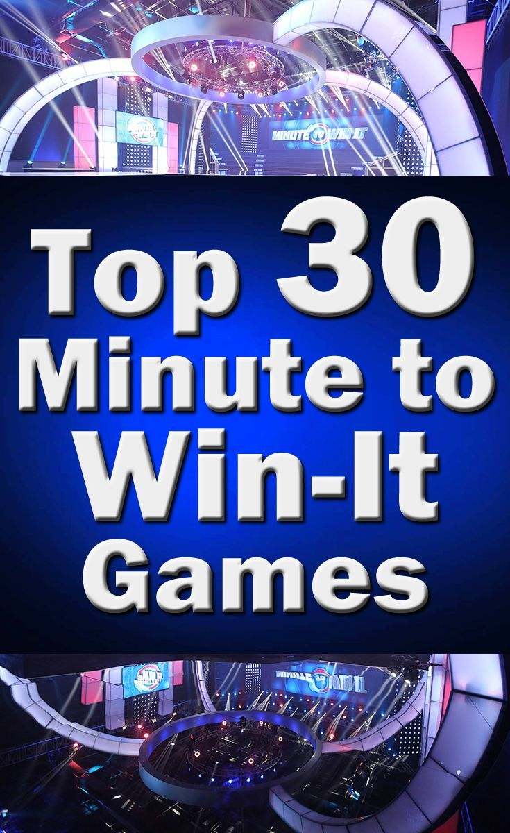 Top 30 Minute to Win It Games For Adults, Kids, Teens