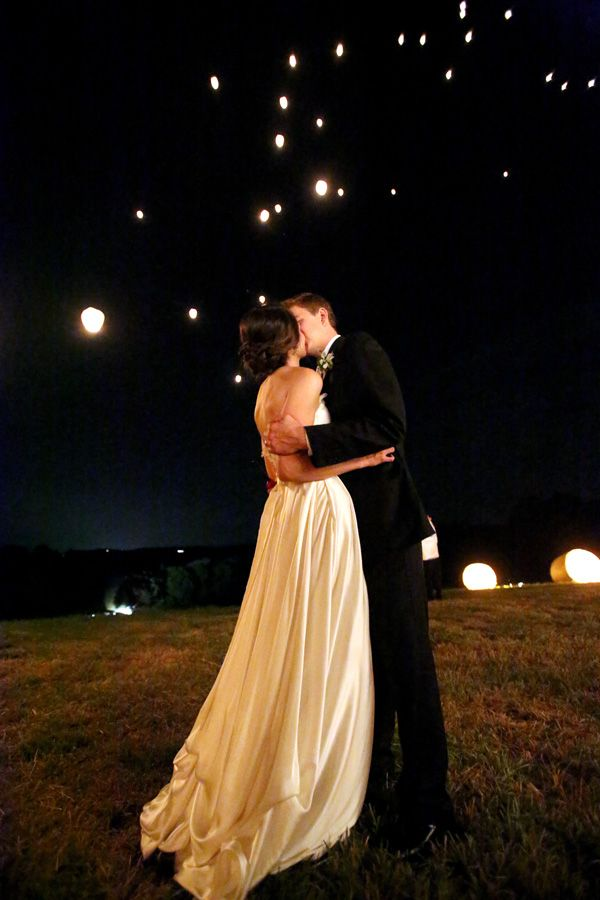 wish lanterns | Mary Rosenbaum #wedding
