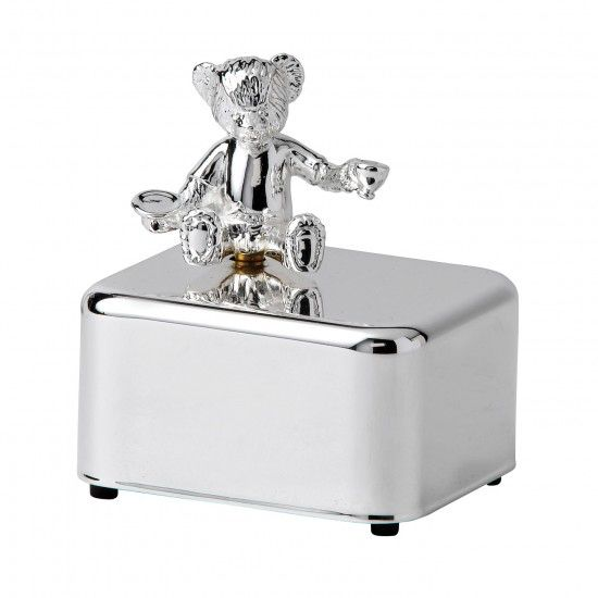 Wedgwood Christening Bear Music Box