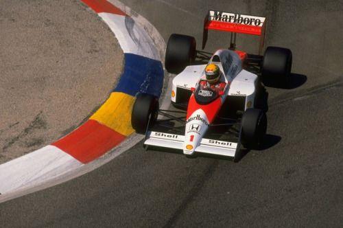 formula1powerAyrton Senna, McLarenHonda MP4/5, 1989