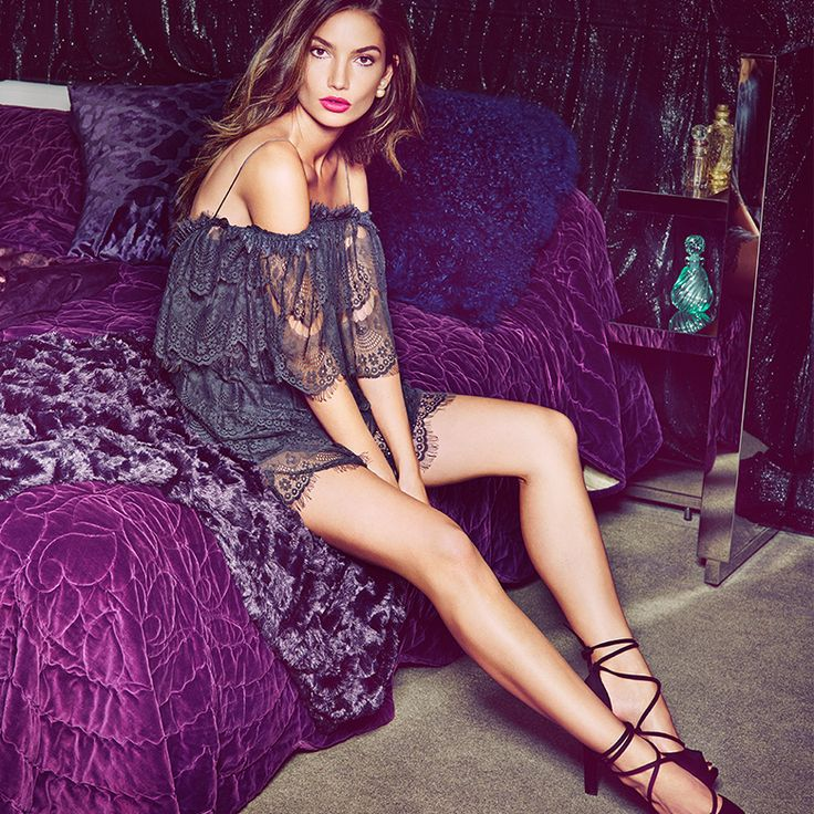 IT'S HERE! The ultimate #party #collection fronted by fabulous #Lily #Aldridge - #NLY #ICONS! #Shop 'til you drop at #Nelly.com!