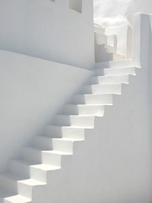 ....: White Step, Colors, Greece, New Houses Plans, Architecture, Greek Islands, Stairways, White Stairs, Heavens