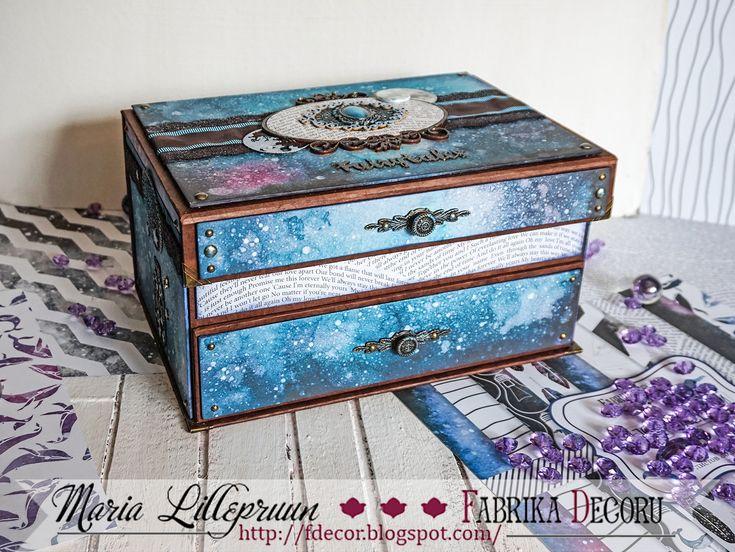Mysterious big handmade jewellery box by Maria Lillepruun