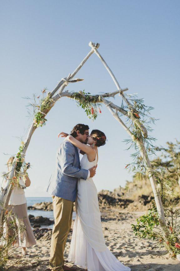 small beach wedding ceremony ideas%0A     Great Ideas of Beach Wedding Arches