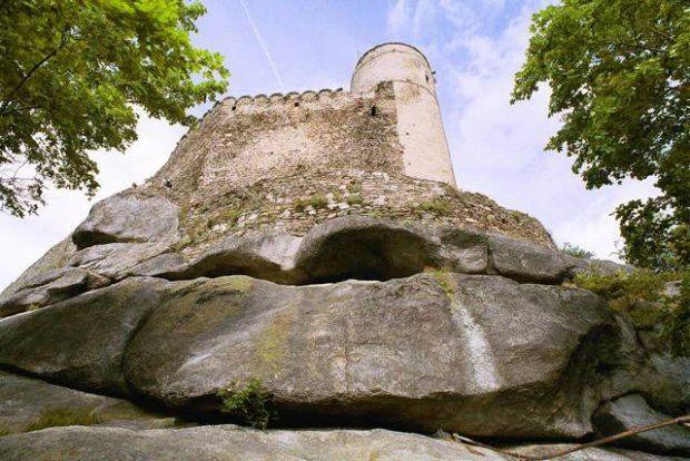 Chojnik castle; Karkonosze Mountains; Poland