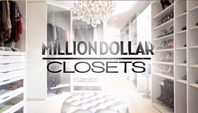 Million Dollar Closets by Goodbye Pictures. LA's hottest high end closet designer, Lisa Adams creates dream closets for celebrity clients Kris, Kylie and Kendall Jenner, and Whitney Port.