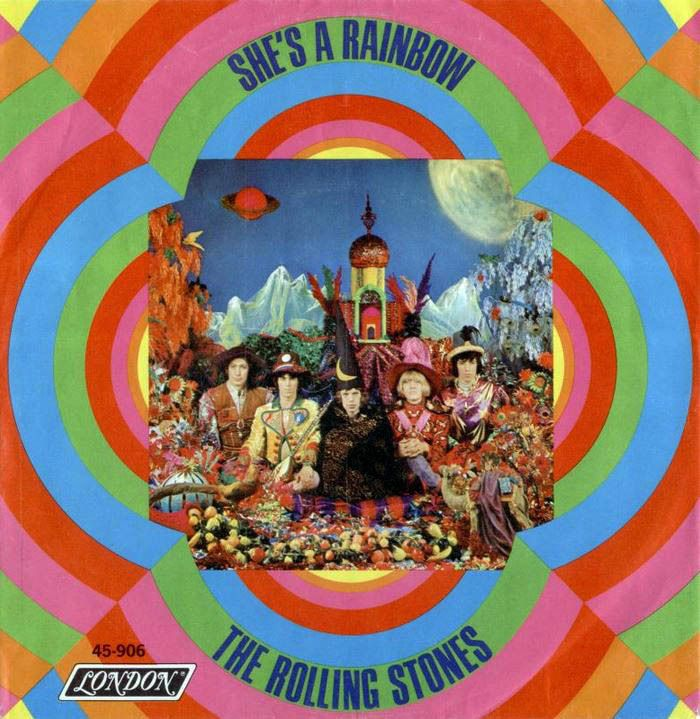 """soundsof71:  """"The Rolling Stones, """"She's A Rainbow,"""" from Their Satanic Majesties Request  """""""
