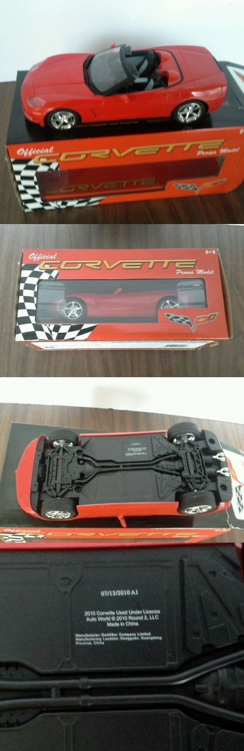 Promo 2592: 2010 Corvette Convertible Official Promo Model Car Chevrolet Red Promotional Le -> BUY IT NOW ONLY: $32.5 on eBay!