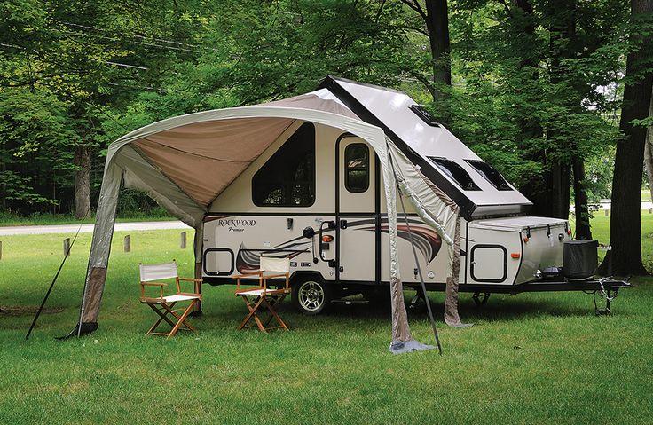 rockwood pop up camper