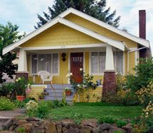 It'll be Craftsman-style-esque, with a little farm-house thrown in for good measure.