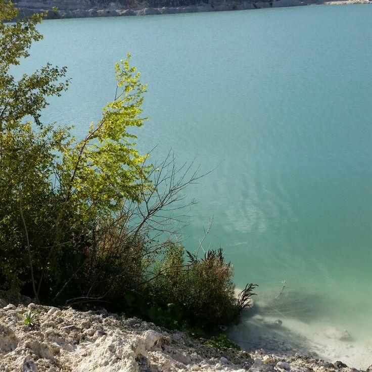 Faxe lalkbrud blue lake