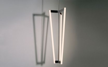 32 of the best floor, table and pendant lights: Michael Anastassiades 'Tube Chandelier'.
