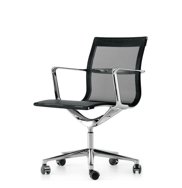 Una Chair Management Una Chair by ICF was designed for the modern office and for this reason it's able to satisfy practical and ergonomic criteria in any working environment. It's shape is modern and elegant, comfort is surprising thanks of the high level materials. Several versions of this chair are available: with low backrest, with wheels, height-adjustable, oscillating or on glides. http://www.lomustore.com/en/prod/office/armchairs-for-office/una-chair-management.html