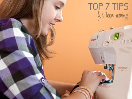 7 tips for teaching a teen to sew