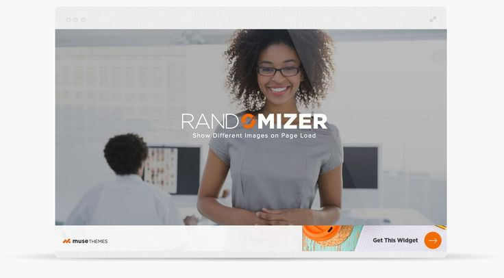 Randomizer provides a simple way to display random images or banner ads in Adobe Muse on every page load. Created by MuseThemes.com.