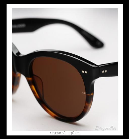 Oliver Goldsmith Manhattan sunglasses - Caramel Split