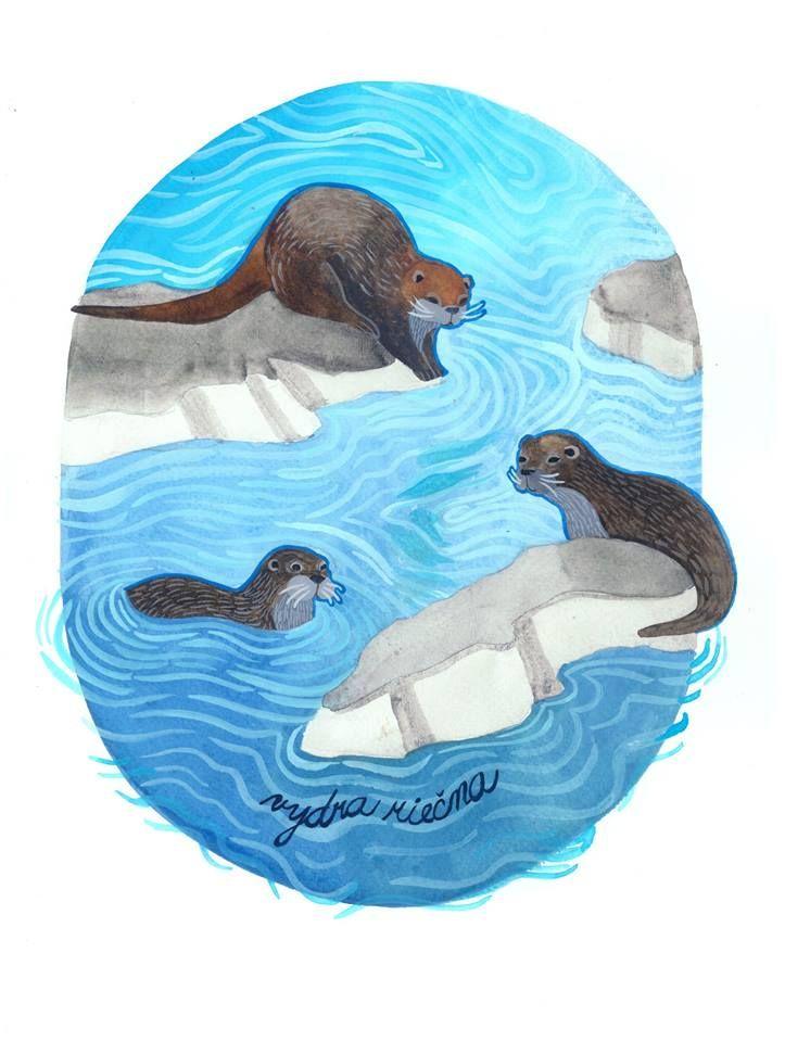 watercolor painting by dent de lion