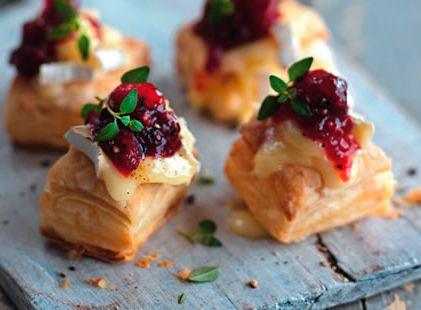 Hojaldres de queso camembert - Recetas para niños