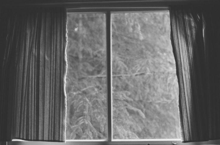 Cabin windows, film.