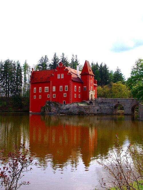 Cervena Lhota Castle, Czech Republic (by salvesalve)
