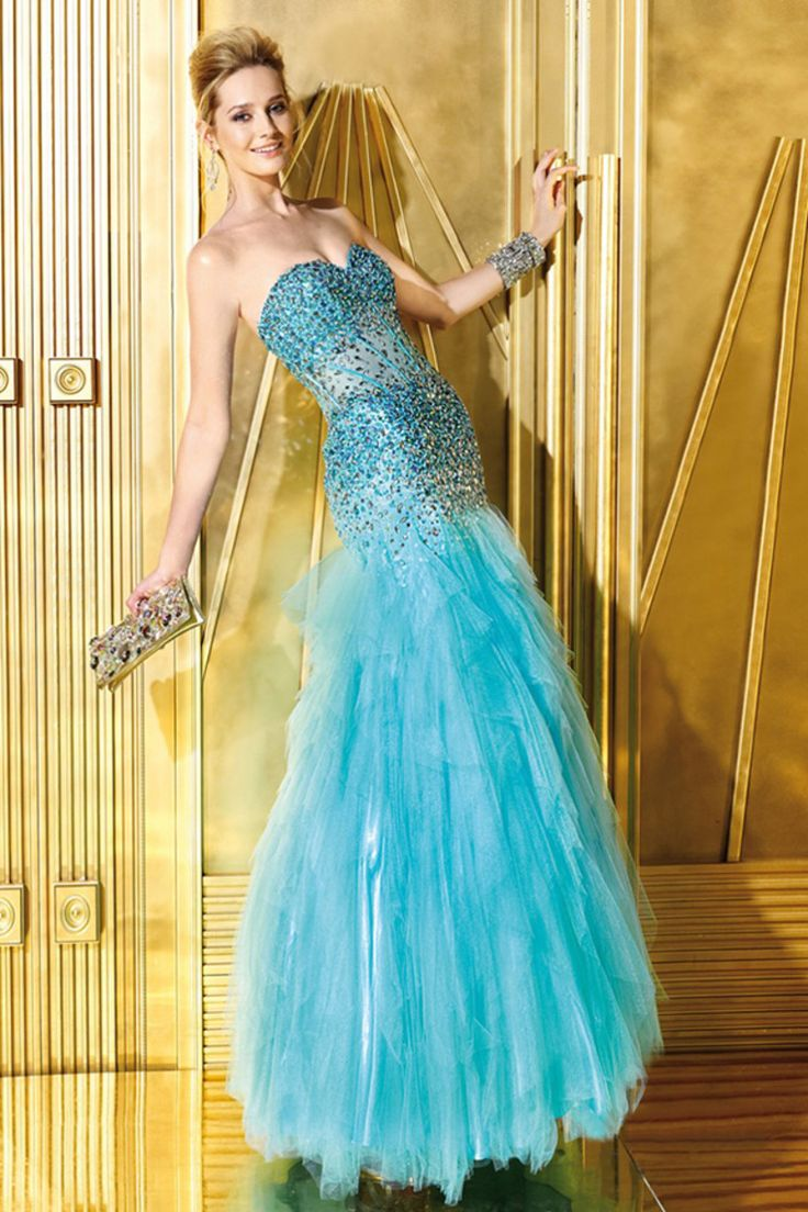 95 best Prom dresses images on Pinterest | Party wear dresses ...