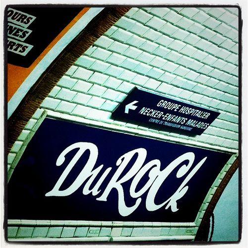 La station de métro Duroc change de nom en musique
