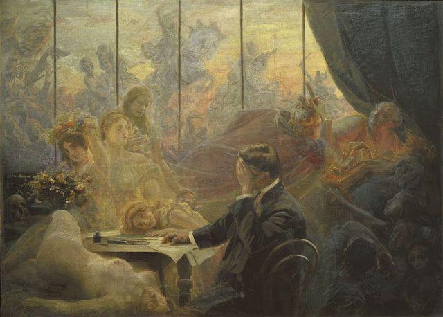 Le Prince Lointain: Emil Holarek (1867-1919), Umělcův sen - vers 1900