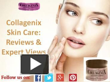#Collagenixskincarereview reveals how beautifully the facial #cream helps you get back your skin's youthfulness.