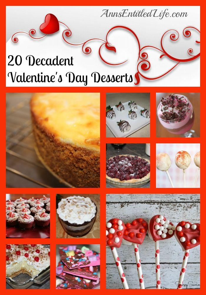 20 Decadent Valentine's Day Desserts