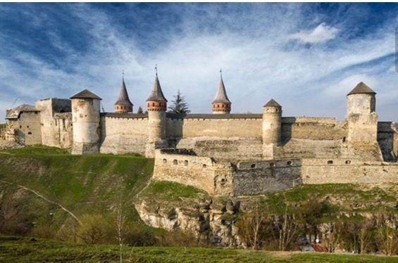 Kamianets-Podilskyi Castle. Ukraïne
