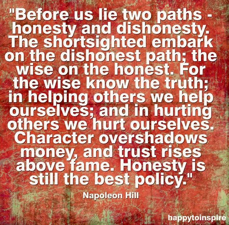 Quotes On Trust Or Honesty