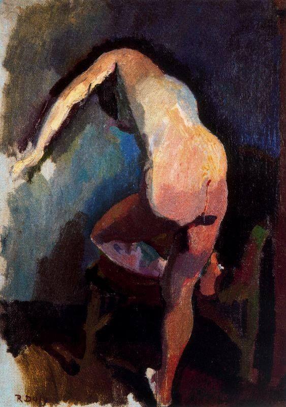 ARTISTIC QUIBBLE |  Raoul Dufy, Claudine di spalle, 1906. Olio su...