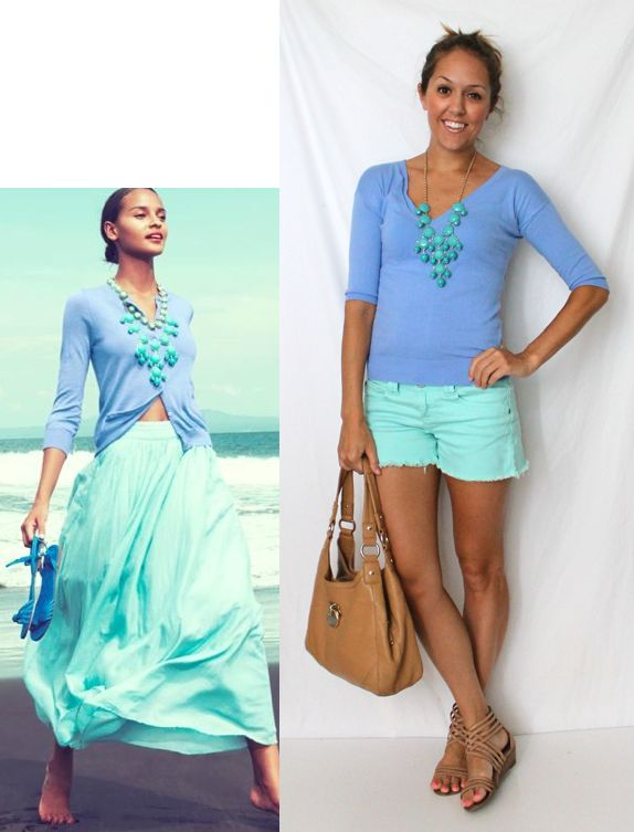 J's Everyday Fashion: Today's Everyday Fashion: Ocean Breeze