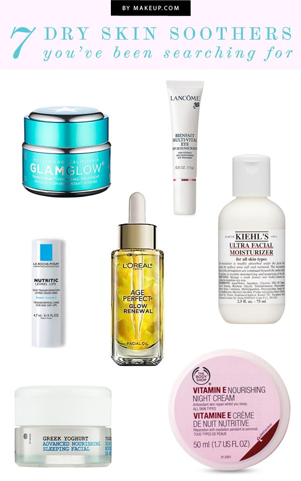 7 products for dry skin