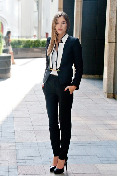 Androgynous chic added by Tatti Style