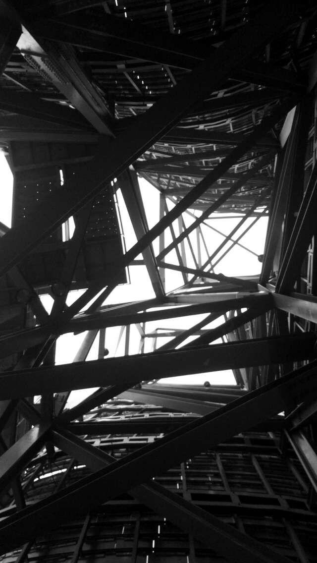 #Guggen #Barrotes #Metal #Hierro #Edificio #Abstrapto