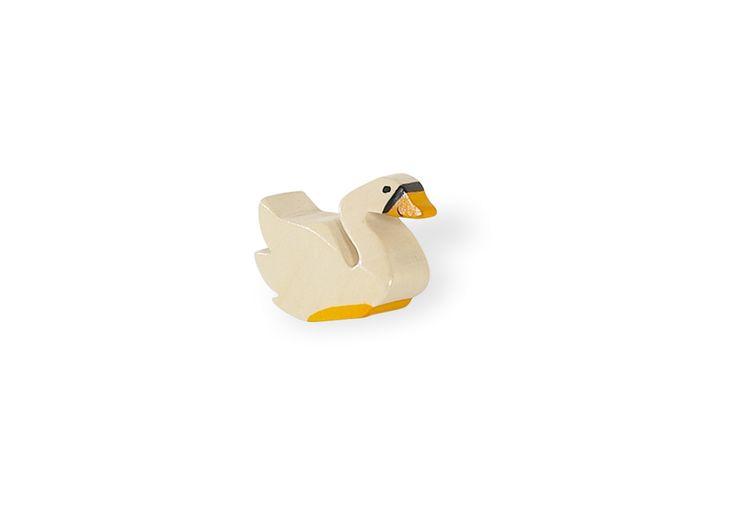 Individueller Möbelknopf Schwan von Pinolino Ideal für Wickelkommode oder Kleiderschrank.