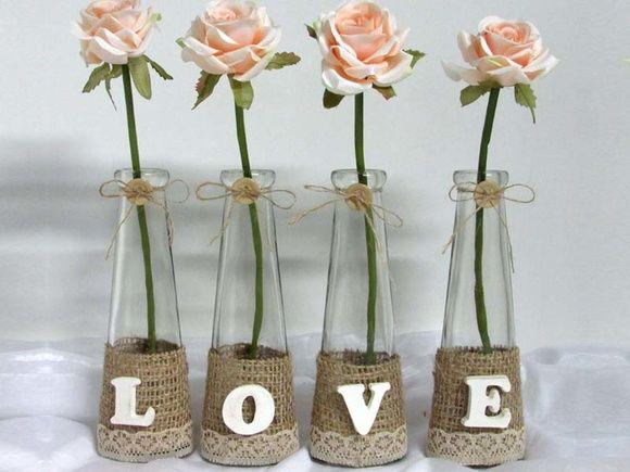 LOVE vasos de vidro                                                       …