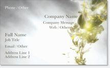 cream gray Premium Business Cards