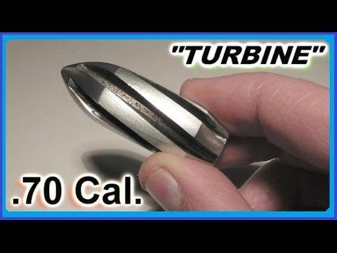 ▶ Custom Aluminum TURBINE Shotgun Slugs -Testing - YouTube