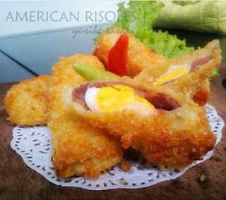Resep American Risoles mayonaise