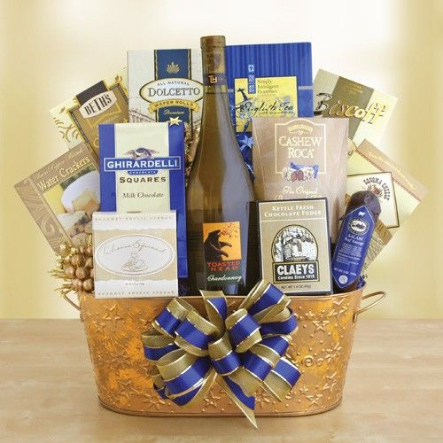 HOW TO PUT TOGETHER THE PERFECT WINE GIFT BASKET