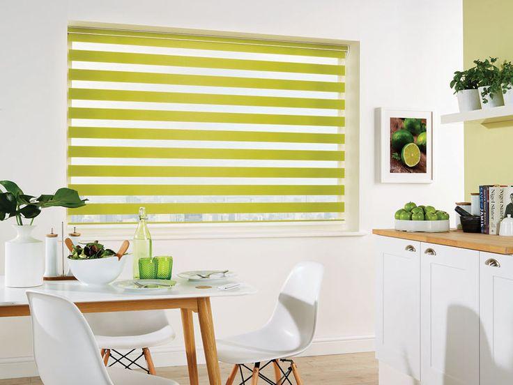 The Capri Paradise Green Vision Blind #HomeDecor
