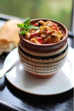Chakhokhbili, a Georgian stew
