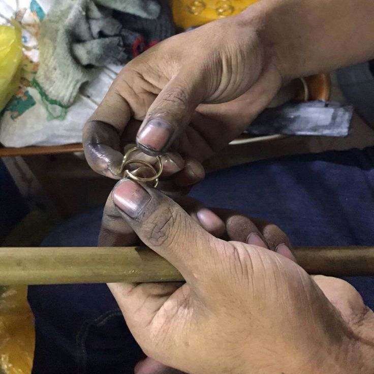 Our amazing team in Cambodia has been busy making our classic wire cuff rings just for you! #Ethical,#Jewellery,#jewelry,#Cambodia,#Collection