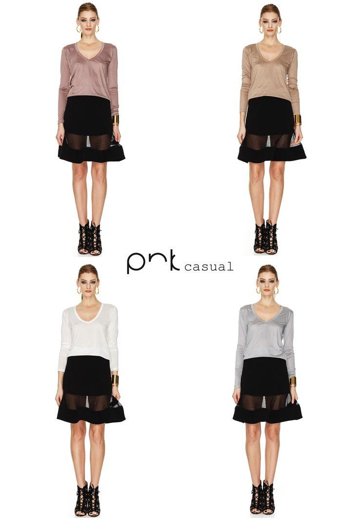 Basic tshirts - any wardrobe must have!  #pnkcasual #cool #fashion #happiness