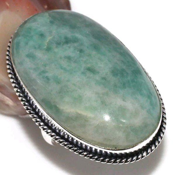 Ring Amazonite $20 www.ancientvisions.com.au