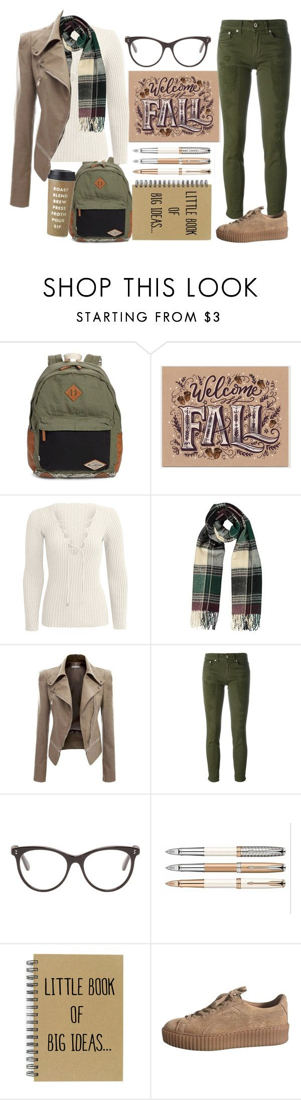 """""""First day of Fall-class"""" by nimas on Polyvore featuring Billabong, Dondup, STELLA McCARTNEY, Kate Spade, men's fashion and menswear"""