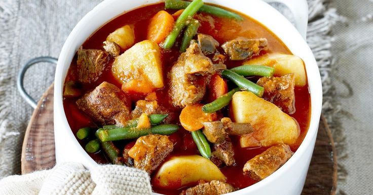 For a classic one-pot dinner, warm up with this tasty beef stew.