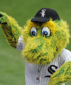 White Sox Mascot: Southpaw Created by Street Characters Inc.